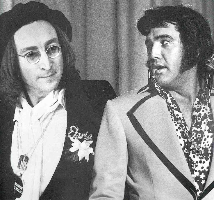 John & Elvis...two Kings!