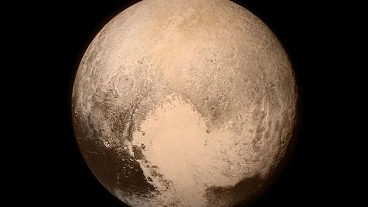 Nasa's New Horizons spacecraft has made the first visit to Pluto, approaching within 12,500km of the icy world.