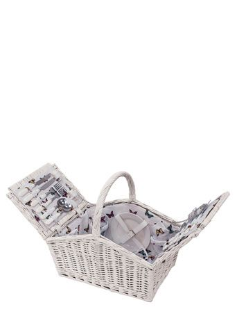Butterfly flap 4 person hamper