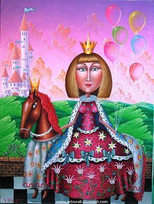 "Artist Zurab Martiashvili: 2011, ""Princess"""