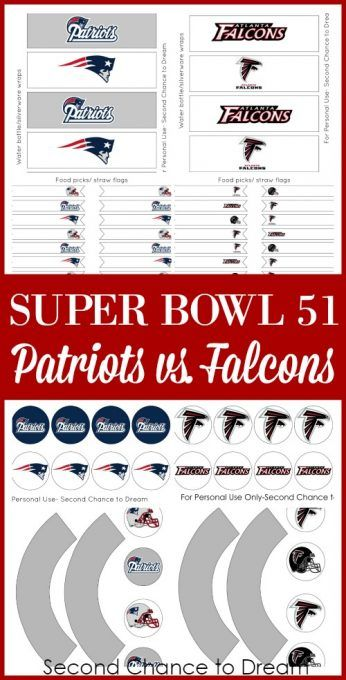 Super Bowl 51 is a week and a half away. Will you be hosting a Super Bowl 51 Party or attending one? If so you want to make sure you grab these FREE Party Printables to add a festive touch to your party. Party printables are a GREAT way to add a fun, festive touch …