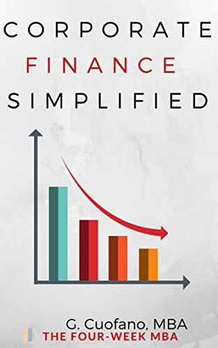 Corporate Finance - The Toolbox for The Financial Manager: Simplified Manual to Understanding Corporate Finance. The Toolbox for the Financial Manager (The Toolbox of the Finance Professional Book 3) by [cuofano, gennaro]
