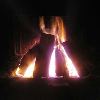 Just for fun! My fire :-)