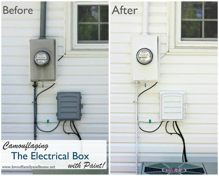 49 best Hiding the electric meter images on Pinterest | Backyard ...