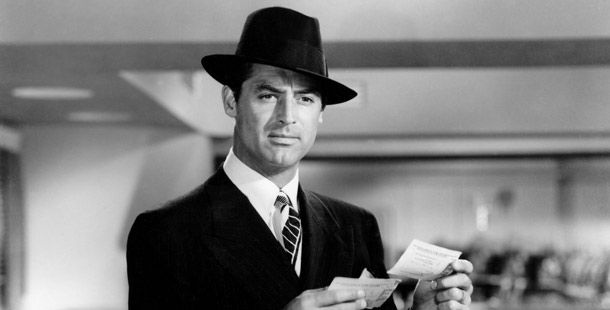 Before Clooney there was Gary Grant....Hats, This Man, Time Travel, A Real Man, Perfect Man, Masculine Style, Future Husband, Cary Grant, Men Wear