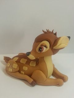 Fondant bambi....no tutorial