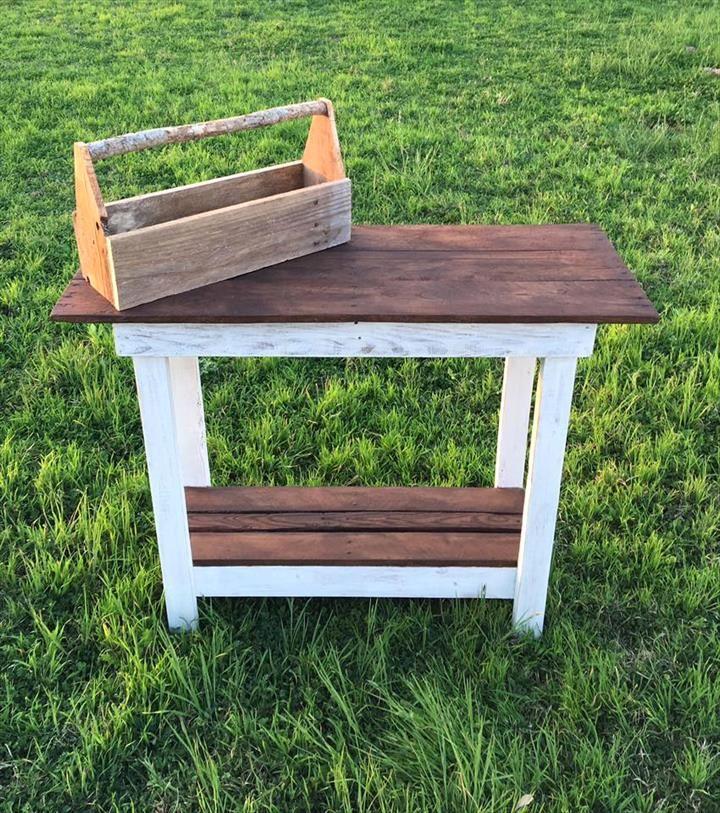 DIY Multipurpose Pallet Table | 101 Pallets