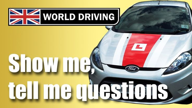 Show me, tell me questions 2016: Practical #driving test questions. At the start of the practical driving #test, the driving examiner will ask you two 'show me, tell me questions' (also known as the vehicle safety questions) based on basic #vehicle maintenance.