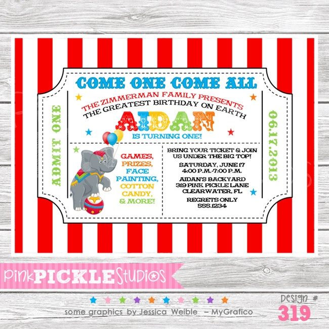 The 25+ best Circus tickets ideas on Pinterest Circus party - free ticket invitation template