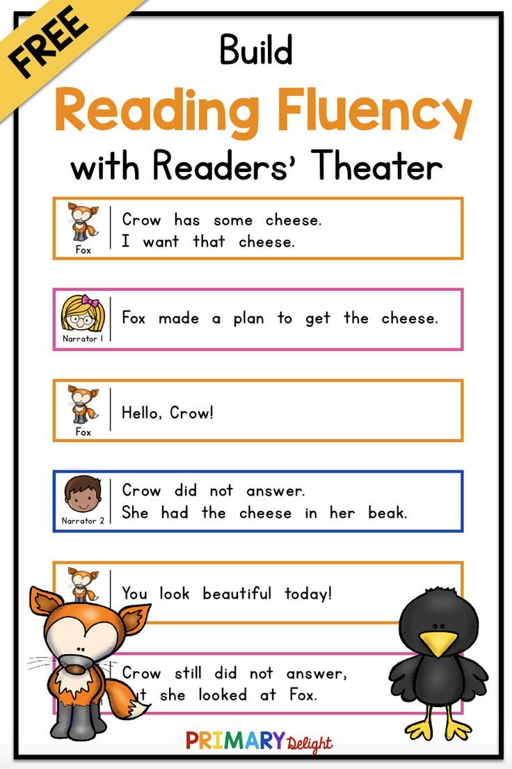 Free Readers Theater The Fox And The Crow Use This Fun Readers Theater Script For Guided Reading Wh Readers Theater First Grade Reading Teaching Elementary [ 1105 x 736 Pixel ]