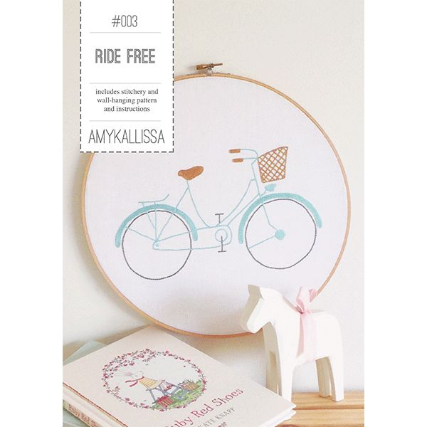 Ride Free Stitchery Sewing Pattern Available in PDF Download and Print