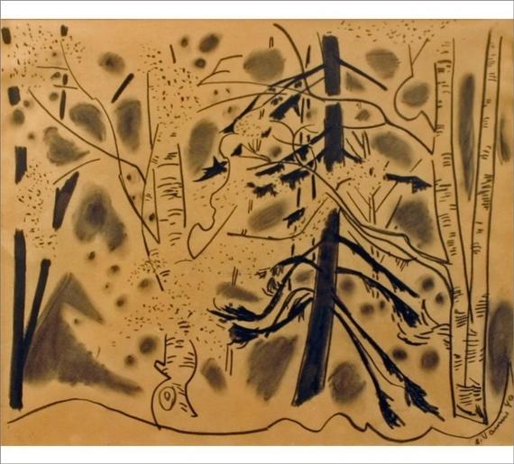 Forest by Sam Vanni *** http://en.wikipedia.org/wiki/Sam_Vanni