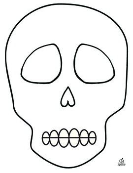 83 best day of the dead images on pinterest day of dead for Day of the dead skull mask template