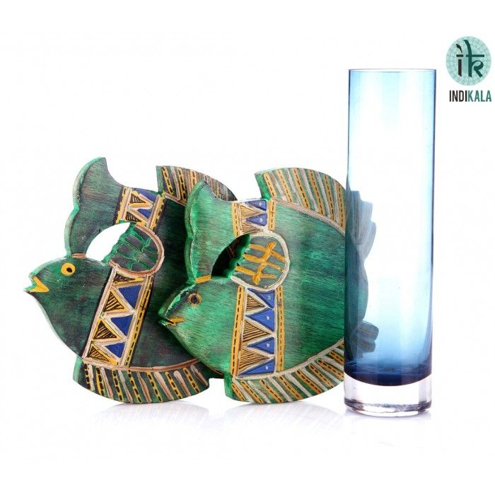 Name : Green Fish Shaped Coasters (Set of 2) Price : Rs 399 Buy Now at : http://www.indikala.com/lamps-coasters/green-fish-shaped-coasters-set-of-2.html #Ethnic #Luxury #BuyOnline #India