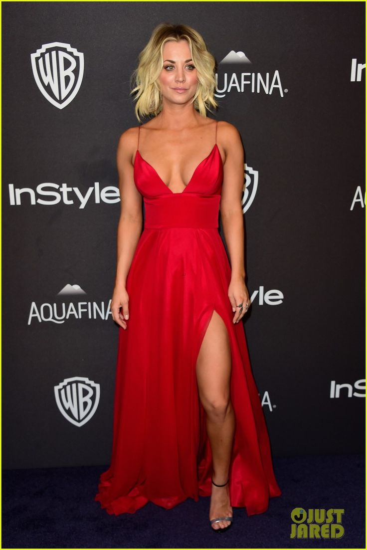 Kaley Cuoco Shows Off Major Cleavage at Instyle Golden Globes Party 2016: Photo #3549238. Kaley Cuoco is red hot as she steps out at the InStyle And Warner Bros. Party held following the 2016 Golden Globe Awards at The Beverly Hilton Hotel on Sunday night…