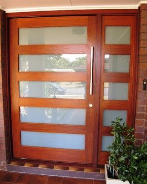 contemporary glazed front doors google search