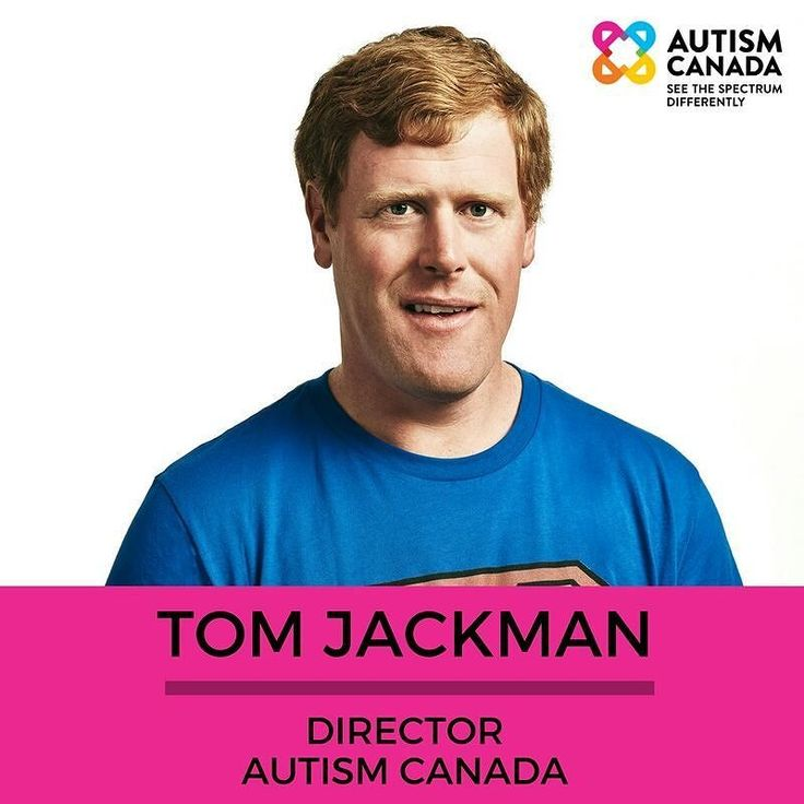 #MeetTheTeam Tom is also the Chair of Autism Canada's ASD Advisory Committee.