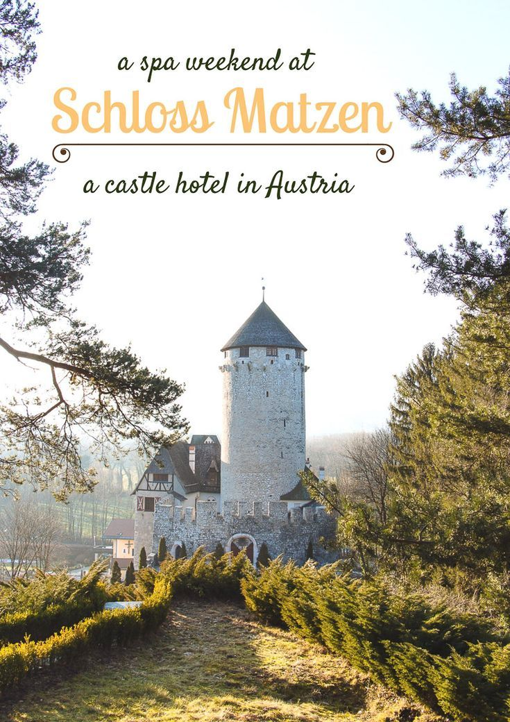 My Spa Weekend at a Castle Hotel in Austria | Countdown to Friday