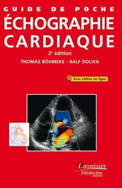 Guide de poche d'échographie cardiaque de Thomas Böhmeke et Ralf Doliva