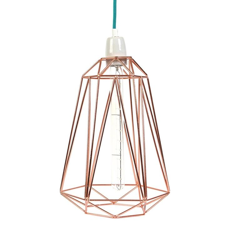 Draadstaal 2.0. FilamentStyle heeft het idee van de draadstalen lamp naar een hoger level getild met deze designs in vrolijke kleuren en vormen. De combinatie met het textielen snoer maakt deze lampen hip, trendy en opvallend. We love it!