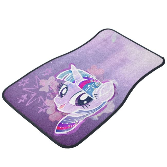 My Little Pony Twilight Sparkle Watercolor Car Mat Zazzle Com