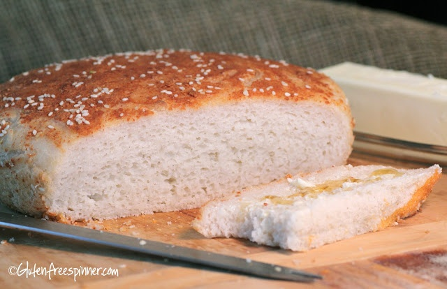 Gluten Free Spinner: Pizza Crust and Bread - One fabulous recipe!