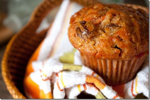 healthier morning glory muffins