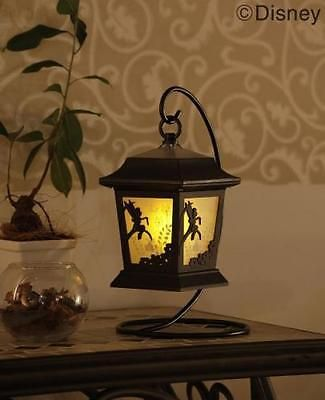 Disney Tinker Bell Solar Lantern Light Silhouette Story Automatic Lighting