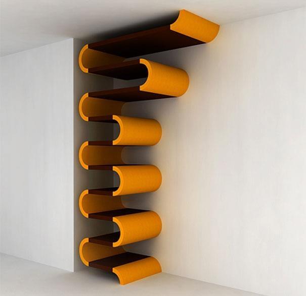 20 best creative bookshelf designs images on pinterest