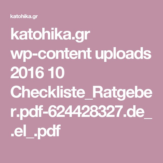 katohika.gr wp-content uploads 2016 10 Checkliste_Ratgeber.pdf-624428327.de_.el_.pdf