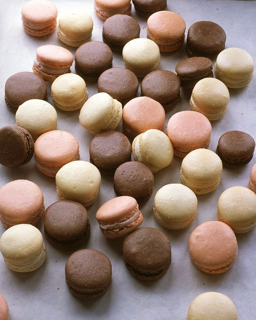 French Almond Macarons Recipe. Follow @MS_Living on Pinterest for more recipes and inspiration from the editors of Martha Stewart Living.