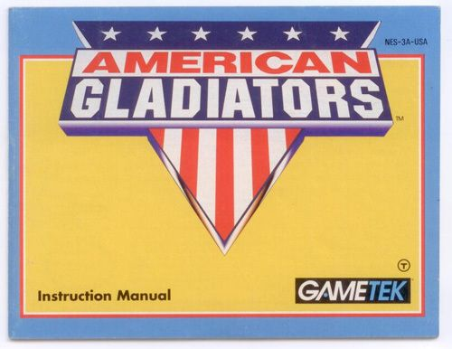 American Gladiators - NES Manual