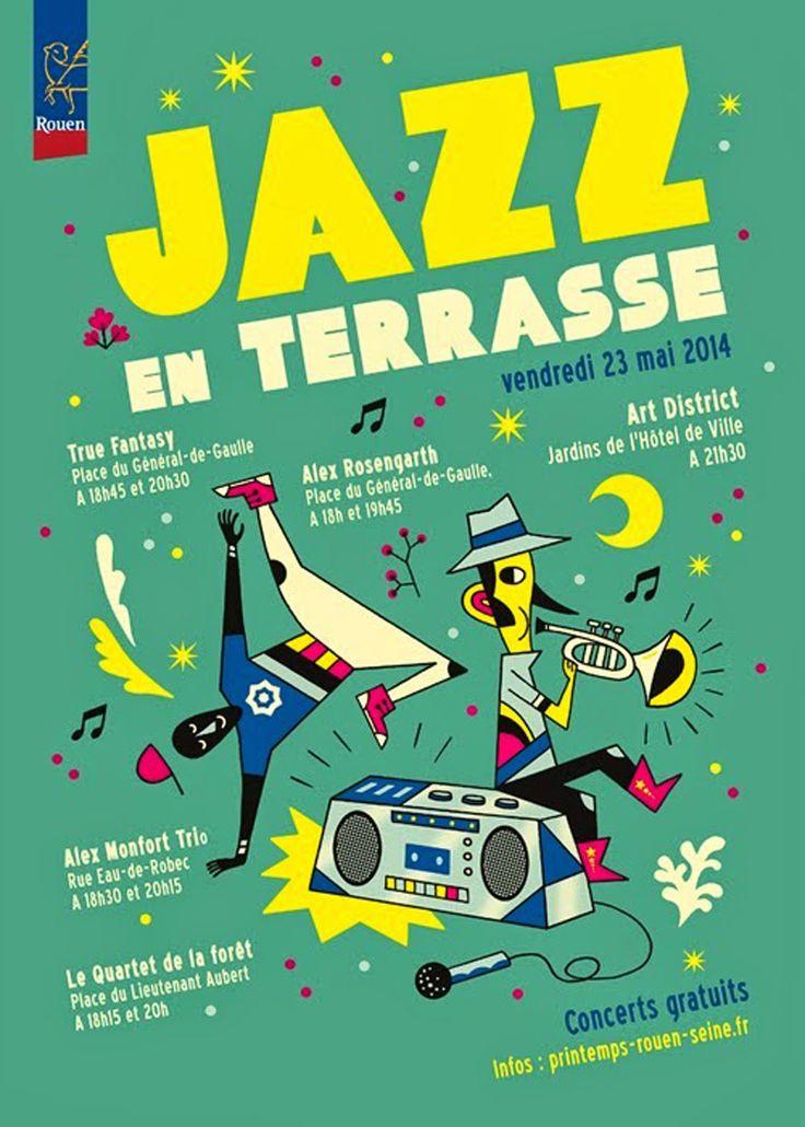 """Emmanuel Kerner pour le festival """"Jazz en Terrasse"""" de Rouen!"""