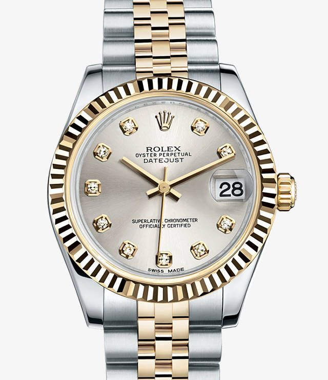 Absolutely in love with this Rolex Datejust 31 Watch: Yellow Rolesor - combination of 904L steel and 18 ct yellow gold - 178273