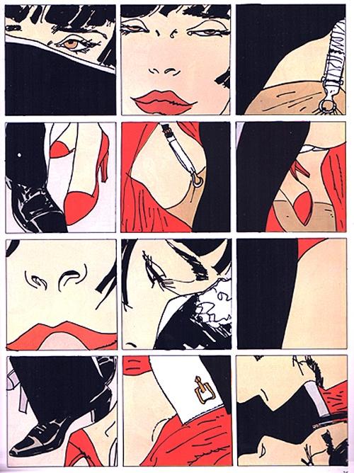 Tango…..  Hugo Pratt - 1988
