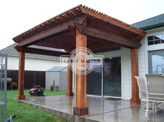 Lawn Master Outdoor Living : 17 Best images about Pergolas and Pavilions on Pinterest ...