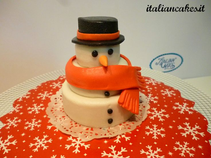 MiniCake Pupazzo di neve.