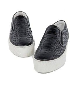 "Scarpa Slip On Stampa Pitone ""Cult"""