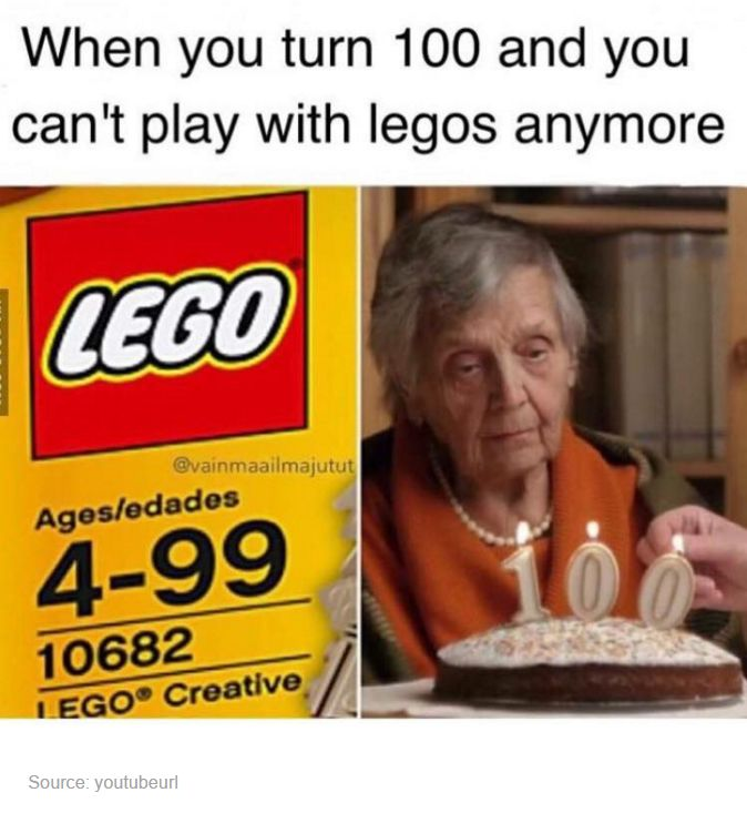 And she loved playing with legos... so sad and tragic