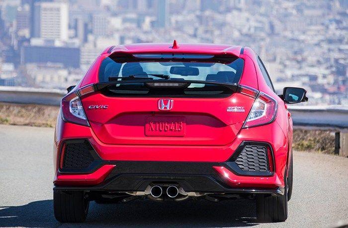 2019 Honda Civic Back Honda Civic Honda Civic For Sale Civic