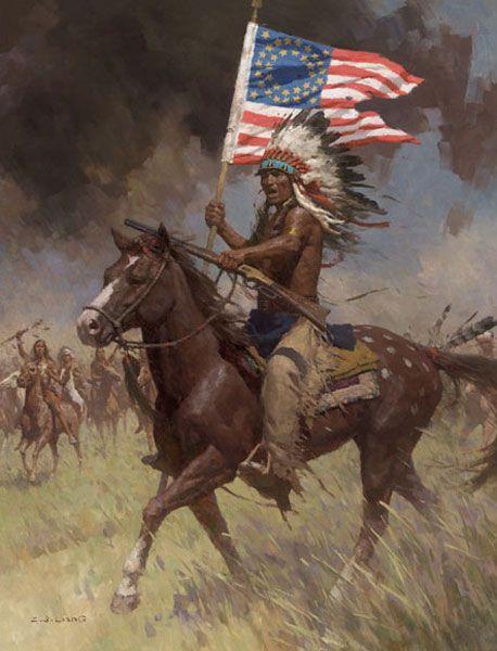 Lakota Warrior, Little Big Horn