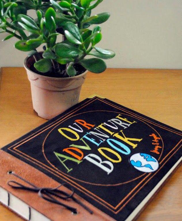 I'm going to start my own adventure book! #up #disney #lifeisanadventure #disneyland #waltdisneyworld #waltdisney