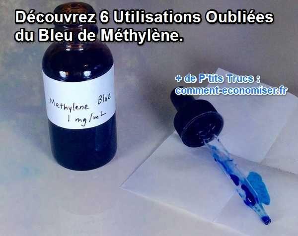 6 Vertus du Bleu de Méthylène Que PERSONNE ne Connaît.