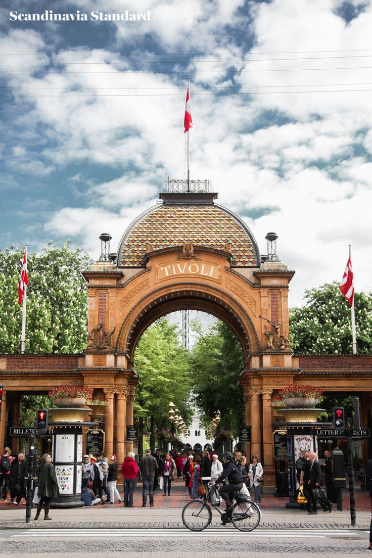 Tivoli Entrance Copenhagen | to do in Copenhagen Scandinavia Standard