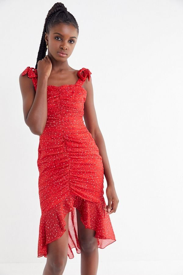 553d100052b Slide View  4  Finders Keepers Locales Ruched Midi Dress