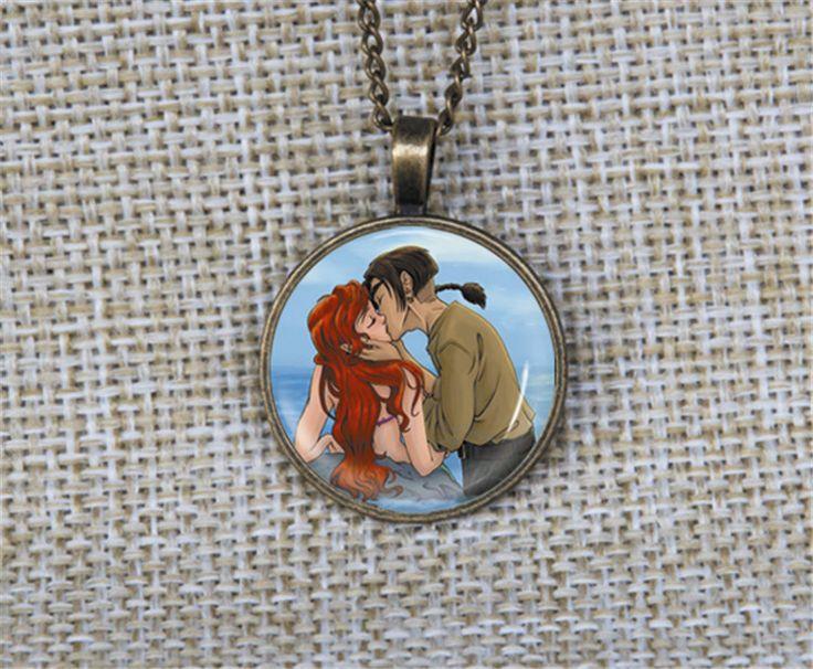 New Romantic ariel y jim Parejas Collares pendientes collar de la joyería de Encargo de la foto personalizada hecha a mano idea de regalo para San Valentín en   de   en AliExpress.com | Alibaba Group