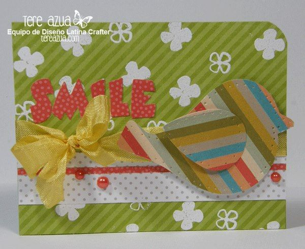 Latina Crafter - Sellos en Español: Smile