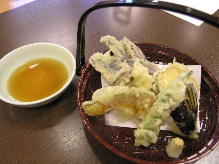 和食 蒲桜: 季節の野菜天盛5点+1ドリンク