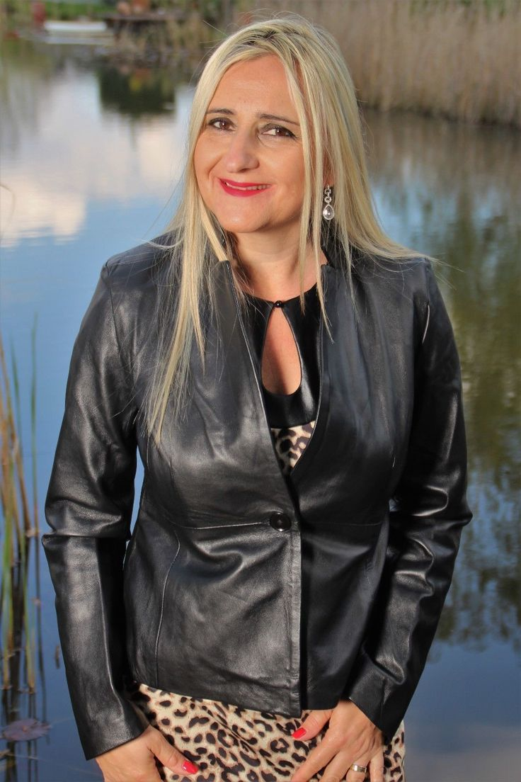 Lederblazer- Lederjacke im Business Style aus Echtleder in schwarz | eBay