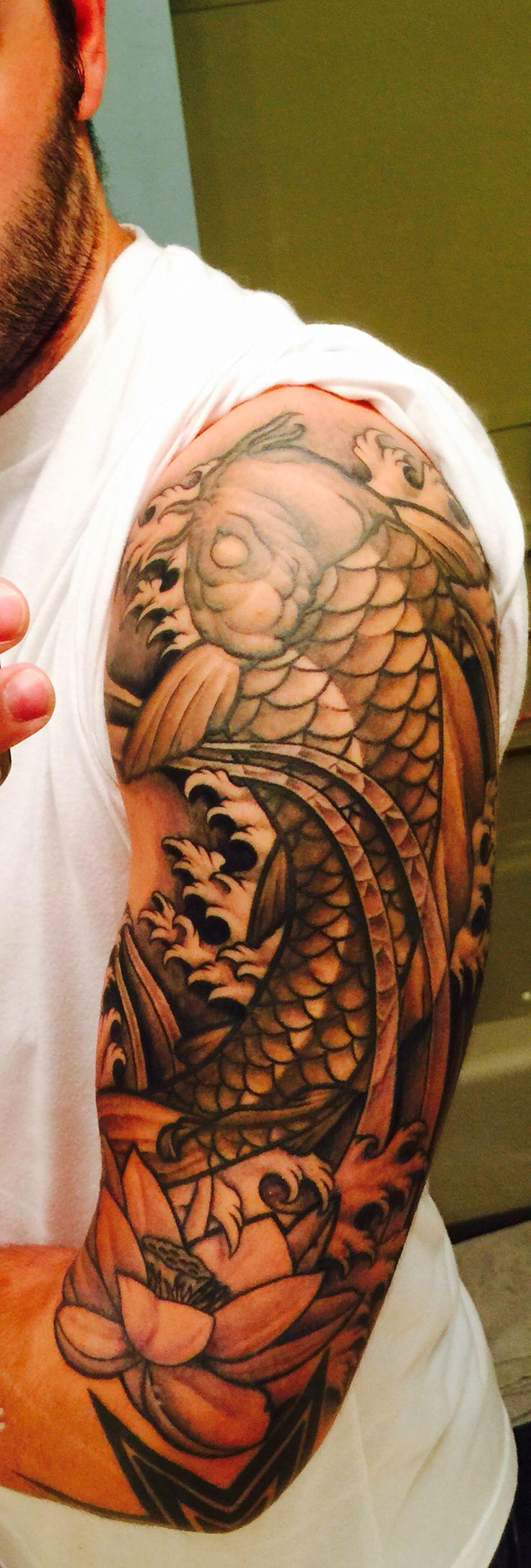 Koi fish tattoo #koi #tattoo #koifishtattoo